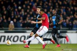 Martial cetak gol, MU imbang lawan Brugge