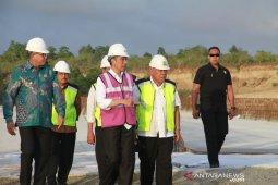 Presiden Jokowi tinjau pembangunan tol Aceh-Sigli