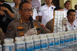 Polisi sita 2,5 juta butir obat ilegal pengganti narkoba