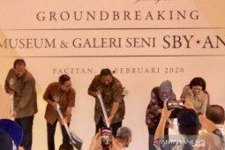 SBY  pancangkan tiang pertama pembangunan museum di Pacitan (Video)