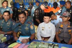 Lantamal Belawan-Dumai gagalkan kapal  nelayan bawa narkotika