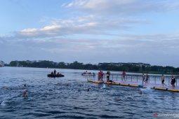 Ratusan peserta ikuti Palembang Triathlon 2020