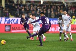 Milan gagal raih tiga poin dari Fiorentina