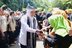 Gubernur Jatim ingatkan pemanfaatan dana desa untuk program padat karya