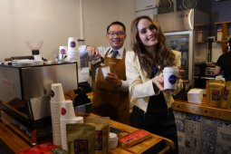 Indonesian coffee shop opens in Melbourne, Australia
