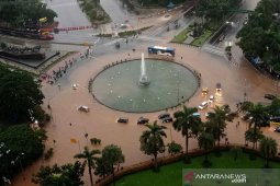 BMKG marks extreme rainfall in Jakarta on Tuesday