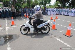 Korlantas POLRI buat silabus keselamatan berkendara untuk siswa