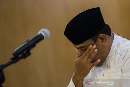 Sidang Pledoi kasus suap Indramayu
