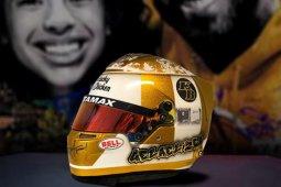 Racer Gelael remembers Kobe Bryant through helmet artwork