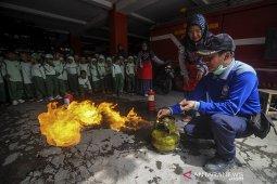 Simulasi antisipasi bencana kebakaran