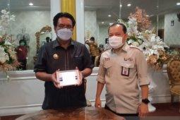Bupati  Sangihe laporkan SPT secara online