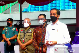 Presiden berharap DKI Jakarta capai kekebalan komunal pada Agustus 2021