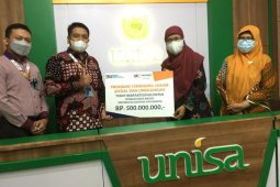 PT Askrindo menyalurkan bantuan pembangunan masjid di Unisa Yogyakarta
