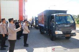 Polda NTT distribusikan ribuan paket sembako