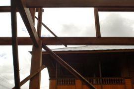 Rumah panggung Minahasa diekspor ke Malaysia