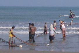 Nelayan Bengkulu menghalau trawl