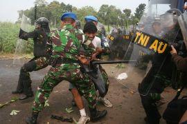 TNI gabungan simulasi tangani bentrok warga Ternate