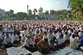 Sholat Id di Sumatera Barat pindah ke Mesjid Raya