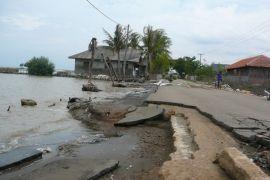 Dua desa korban abrasi parah di Pantura Tangerang