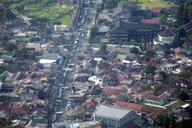 Lalin Kota Bogor Sabtu sore terpantau padat