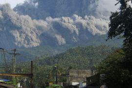 12.000 warga Filipina mengungsi hindari dampak gunung api