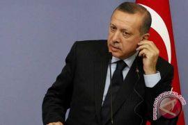 Pemimpin Palestina prihatin Erdogan ke Jalur Gaza