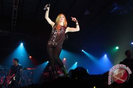 Avril Lavigne konser di Jakarta 2014