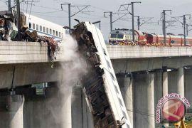 Enam orang hilang dalam kecelakaan kereta api di China