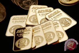 Harga emas naik dipicu Khashoggi hilang dan pelemahan dolar AS