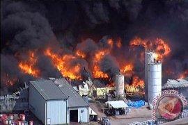 Kebakaran petrokimia,  penduduk empat kota di Texas mengungsi