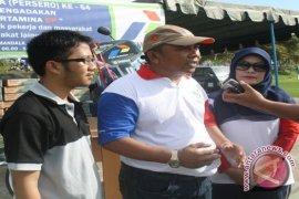 3.000 Warga Sangkima Ikuti Jalan Santai Pertamina