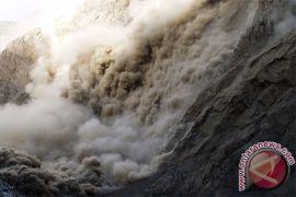 Tebing 15 meter longsor di Magetan, dua rumah rusak