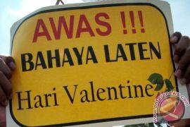 """""""Valentine day"""" haram di Padang"""
