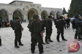 1.100 lebih pemukim Yahudi menerobos ke kompleks Masjid Al-Aqsha