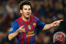 Messi cetak gol di hari raya Imlek