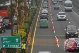 "Jasa Marga terapkan \""contra flow\"" arus balik Imlek di tol Jakarta-Cikampek Minggu"