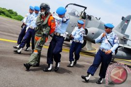 Pangkalan Udara TNI AU Manuhua gelar latihan penyergapan pesawat asing