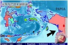 Gempa 5,6 SR Tenggara Manokwari Papua Barat