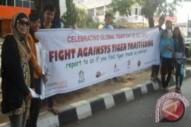 "Aktivis peringati ""global tiger day"""
