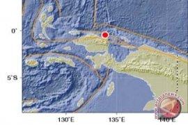 Gempa 6,1 sR guncang Papua Barat