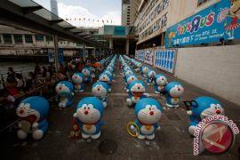 100 Doraemon dipamerkan di Beijing