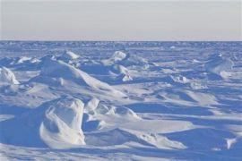 Arus samudra tingkatkan erosi gletser Kutub Utara