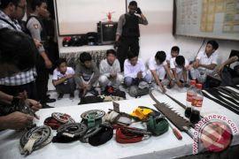 Polisi tangkap sembilan warga provokator tawuran Bantargebang