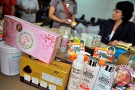 BBPOM gerebek pabrik kosmetik ilegal di Purwokerto