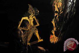 Ada wayang kulit kuno di museum Taiwan