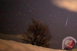Hujan meteor hiasi langit Bosnia
