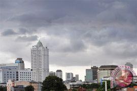 Jakarta dan sekitarnya diprakirakan berawan seharian, Bogor hujan