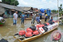 Banjir besar landa Mesuji, 14 desa terendam banjir