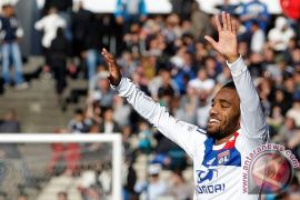 Lacazette pencetak gol terbanyak Ligue 1 Prancis