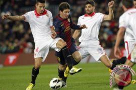 Barcelona kontra Sevilla di La Liga pekan ke-30